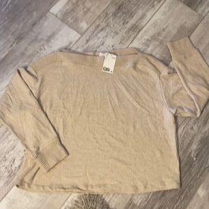 H&M sweater L NWT